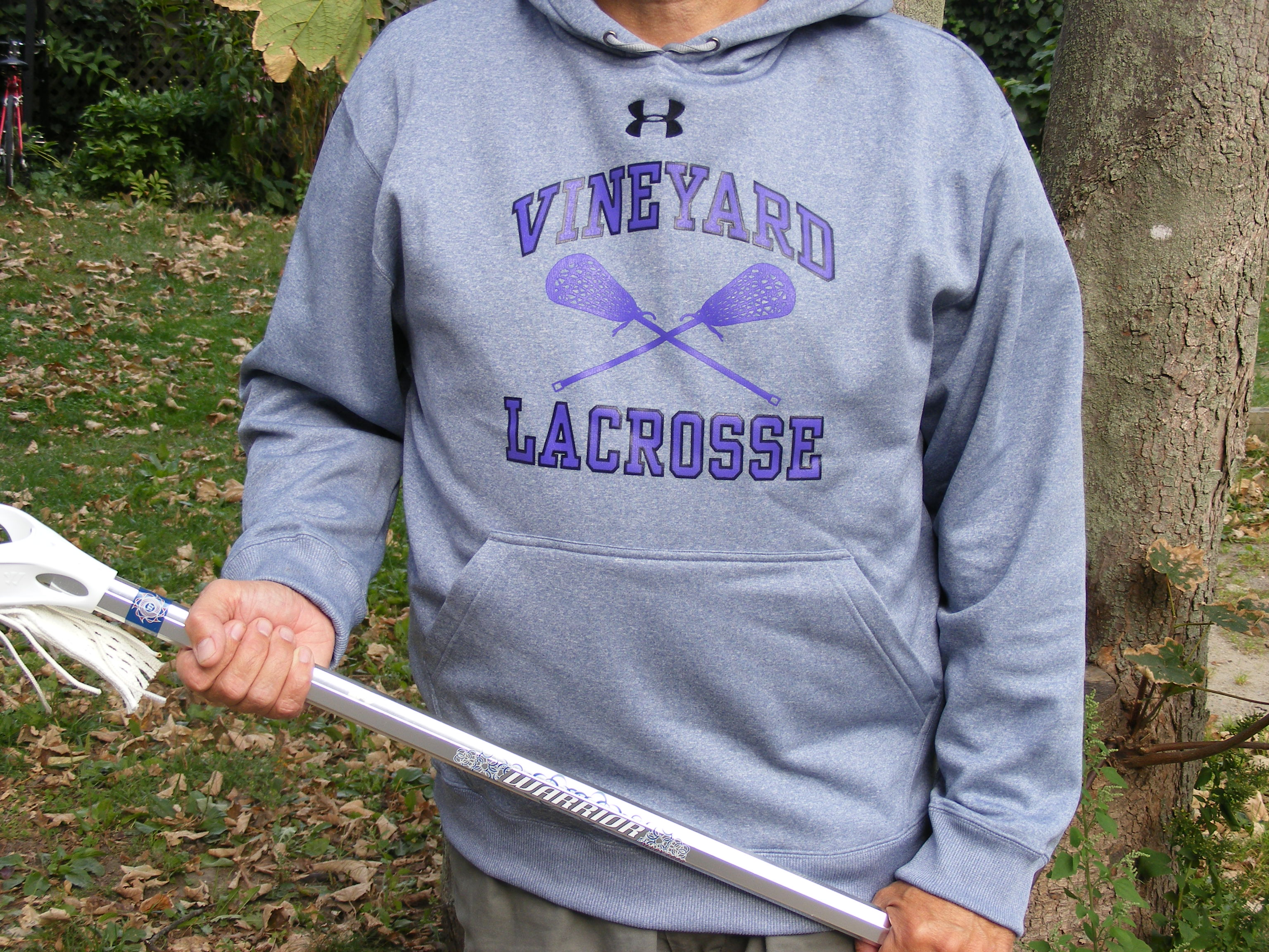 Vineyard Lacrosse Under Armour Youth Hoodie