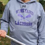 Vineyard Lacrosse Under Armour Hoodie