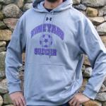 Vineyard Soccer Under Armour Grey Hoodie