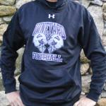 Vineyarders Football Helmet Crash Under Armour Hoodie