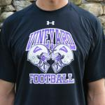 Vineyarders Football Helmet Crash Under Armour Tech Tee